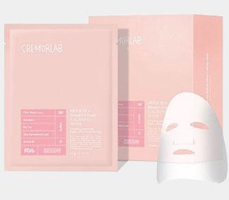 Cremorlab zklidňující maska s bylinkovým čajem