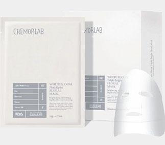 Cremorlab Rozjasňující maska s bílými květy