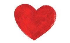 Obal dárkové karty srdce