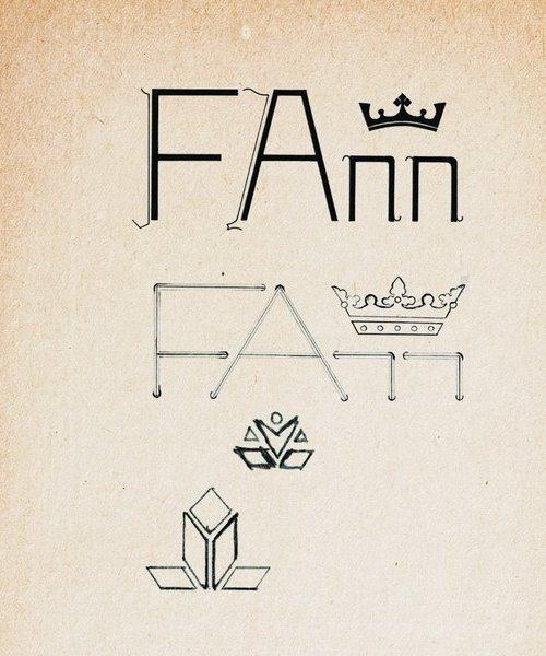 Vznik loga FAnn s korunkou