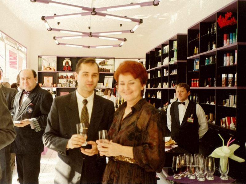 FAnn parfumerie v slovenských Michalovcích po rekonstrukci