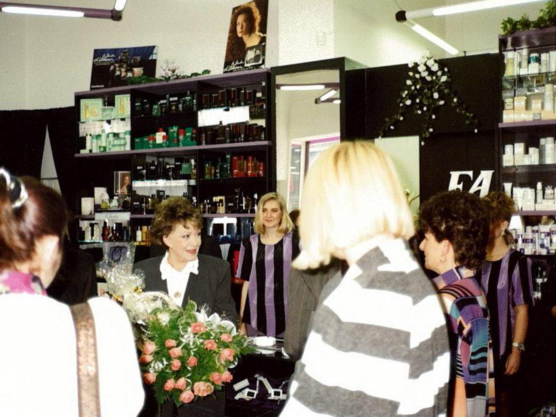 Otevření FAnn parfumerie v Štěpánské ul. Praha